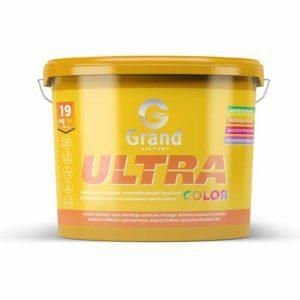 Латексно-акрилатная полуматовая краска для внутренних работ База С ULTRA COLOR  3кг