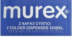 Бумажные полотенца Z-сложение (Murex), 12 пач/ кор , 200 листов. размер: 23*21 см., фото 2