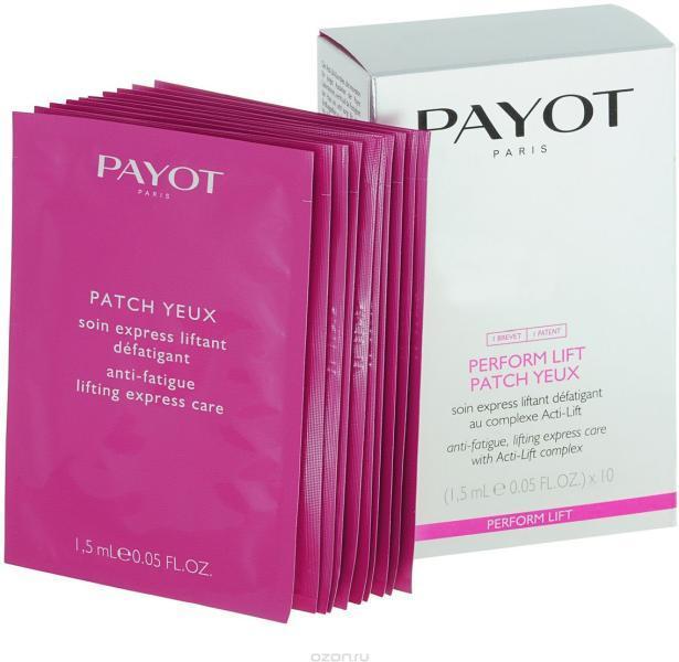 Маска для лица PAYOT Perform Lift Patch Yeux 10х1.5 мл - фото 1