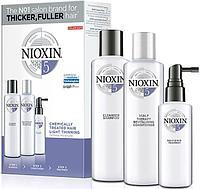 Набор по уходу за волосами Nioxin System 5 для химически обработанных с тенденцией к истончению волос