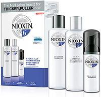 Набор по уходу за волосами Nioxin System 6 для химически обработанных истонченных волос