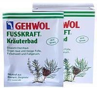 Соль для ванны GEHWOL Fusskraft Green Травяная При повышенной потливости