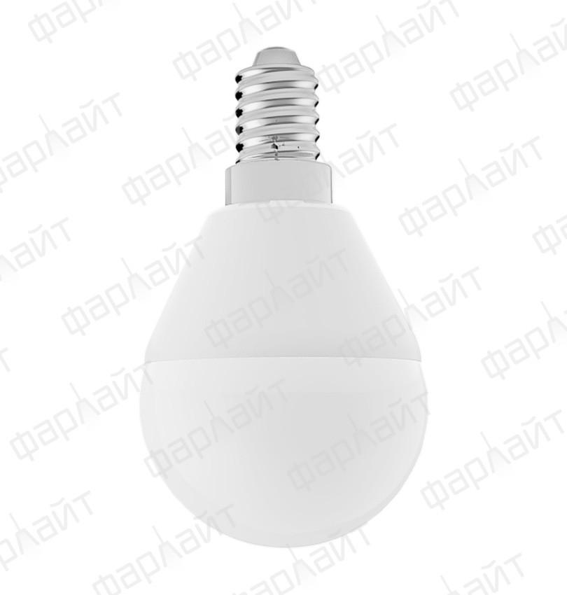 Лампа светодиодная шар G45 8Вт 2700К Е14 Фарлайт