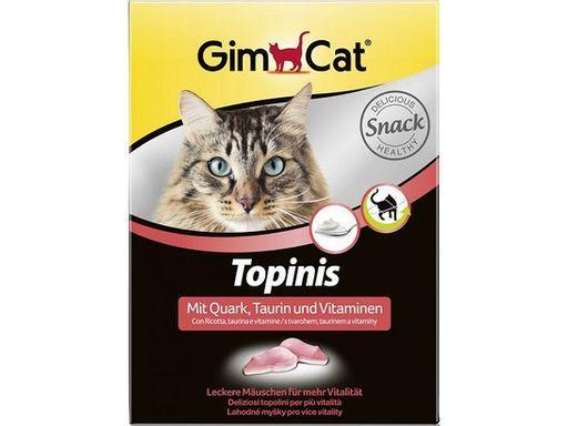 Мышки с творогом и тауриом, Gimcat, уп. 180шт.