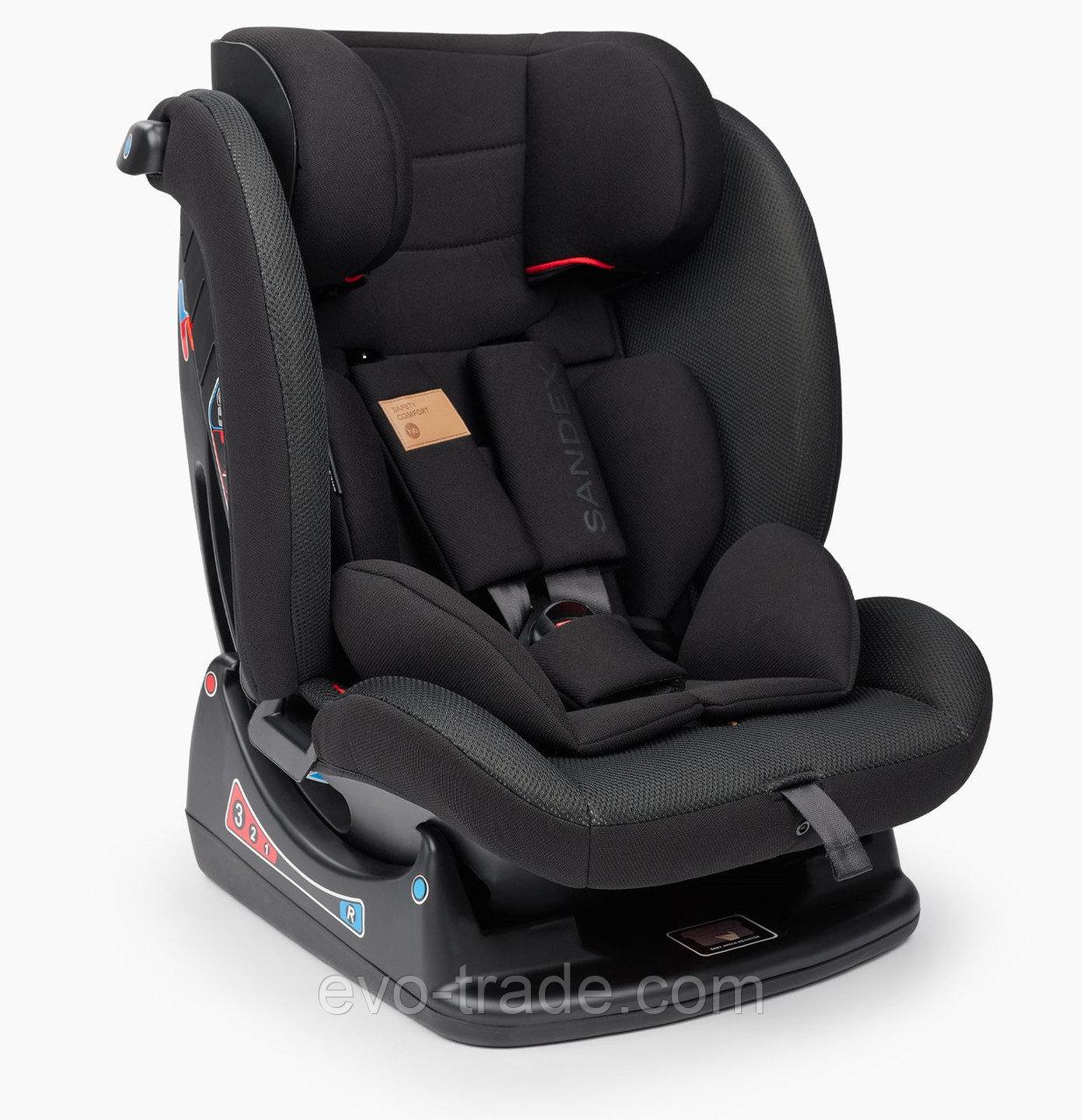Автокресло Happy Baby Sandex Jet Black
