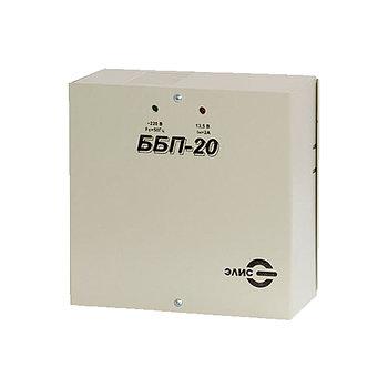 Блок питания ЭЛИС ББП-20, 12V, 2A, под АКБ