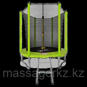 ARLAND Батут 6FT с внутренней страховочной сеткой и лестницей (Light green)