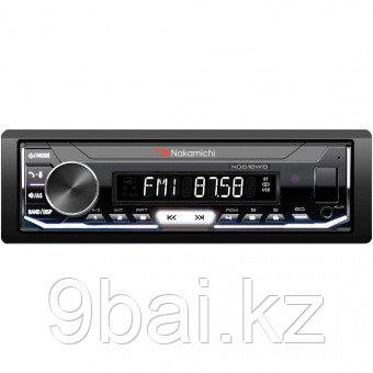 Nakamichi NQ610WB/ 1 din медиа-ресивер, USB, AUX, ВТ, 4*50 Вт, съемная панель, бел./