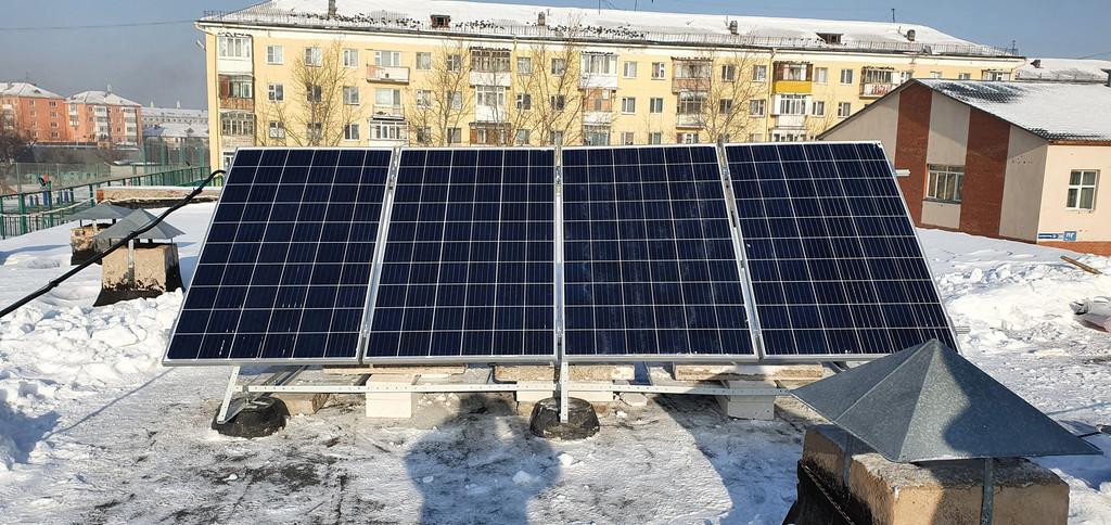 Автономная солнечная станция, Гимназия №46 г. Нур-Султан