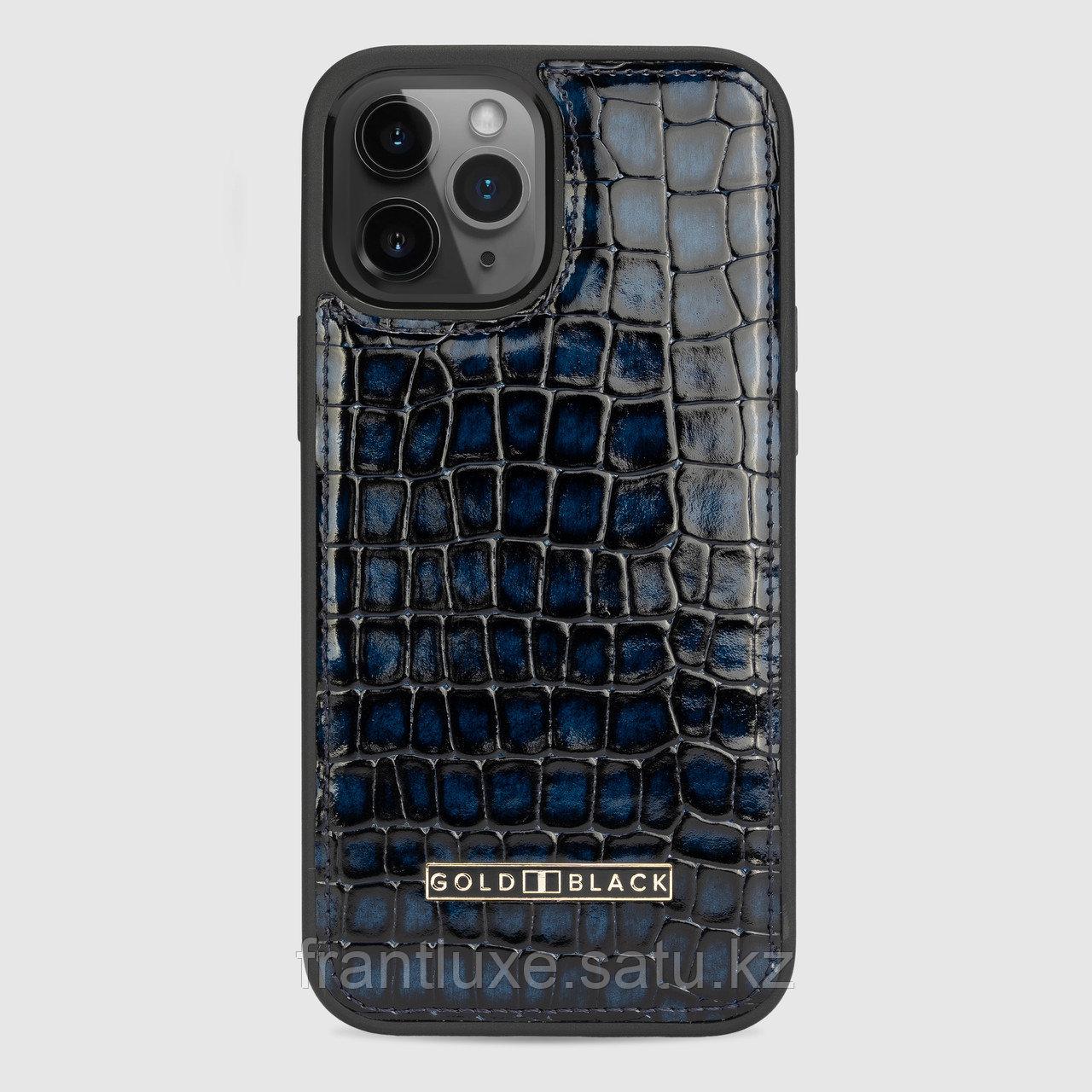 Чехол для телефона iPhone 12 Pro Max синий - фото 1