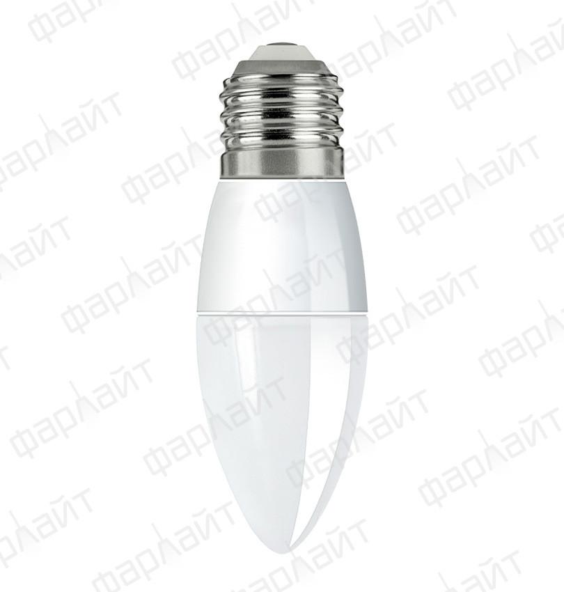 Лампа светодиодная свеча С35 8Вт 4000К Е27 Фарлайт