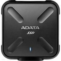 """Внешний SSD накопитель 256Gb Adata ASD700-256GU31-CBK, 2.5"""", USB 3.2 gen1"""