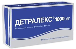 Детралекс 1000 мг №30 таб.