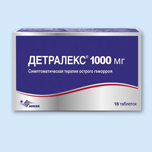 Детралекс 1000 мг №18 таб.