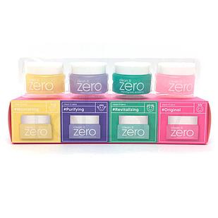 BANILA CO Мини набор очищающих щербетов (4-kind) Clean it Zero Cleansing Balm Original Miniature Set