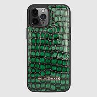 Чехол для телефона iPhone 12 Pro Max зелёный