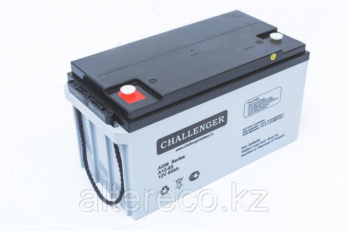Аккумулятор Challenger A12-65A (12В, 65Ач), фото 2