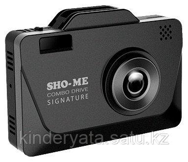 Видеорегистратор Sho-Me Combo Drive Signature черный
