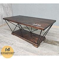 Журнальный столик из прутьев