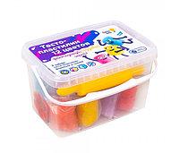 Пластилин Genio Kids Тесто-пластилин 12 цветов