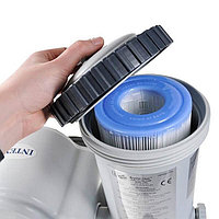 Картриджный фильтр-насос 5678л/ч, картридж А, для бассейнов от 549 до 610 см