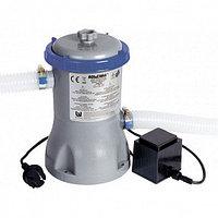 Картриджный фильтр-насос BestWay 3028 л/час, картридж тип II