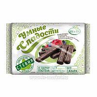 Батончики безглютеновые «Умные сладости» с начинкой лесная ягода, в глазури, витаминизированные 110г