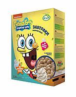 Завтраки амарантовые Губка Боб(Спанч Боб) в сливочной глазури, витаминизированные 220г