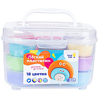 Лёгкий пластилин Genio Kids Набор 18 цветов