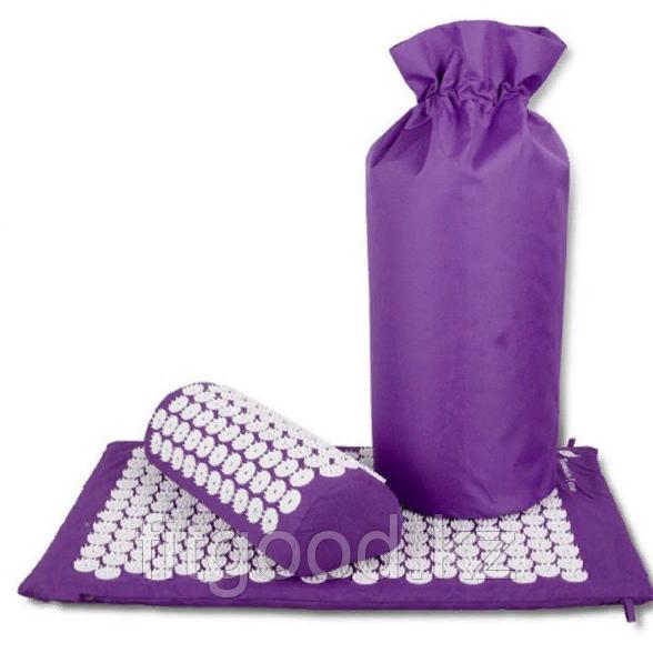 Акупунктурный коврик и подушка для массажа