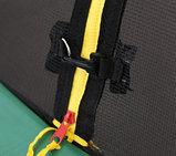 ARLAND Батут премиум 14FT с внутренней страховочной сеткой и лестницей (Dark green), фото 7