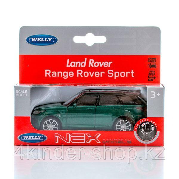 Welly 43698 Велли модель машины 1:34-39 Land Rover Range Rover Sport - фото 2