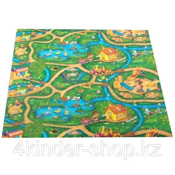 Развивающий коврик рулонный Дороги толщина 5мм - фото 2