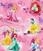 Детский складной коврик с изображениями Принцесс
