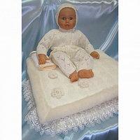 Балу Комплект для новорожденного Облачко желтый/кремовый с пледом 9 предметов зима