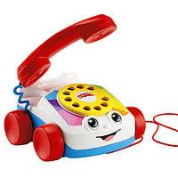 "Fisher Price Игрушка- каталка ""Веселый телефон"", со звуком"