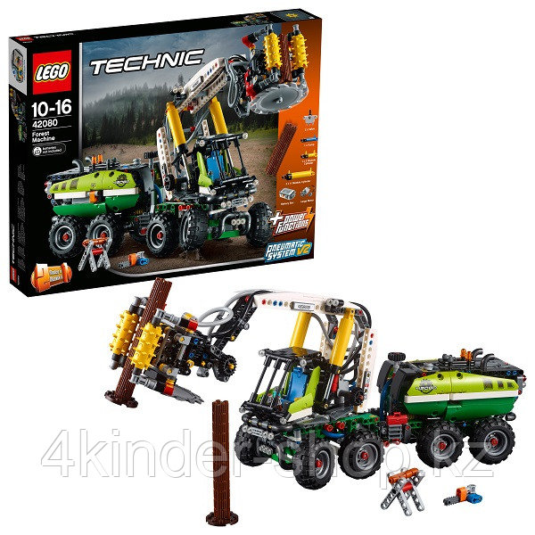 Лего Техник Конструктор Лесозаготовительная машина 42080 - фото 2