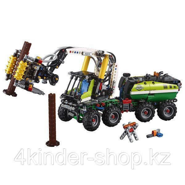 Лего Техник Конструктор Лесозаготовительная машина 42080 - фото 3