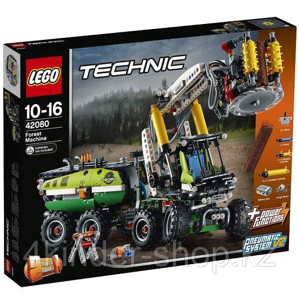 Лего Техник Конструктор Лесозаготовительная машина 42080 - фото 4