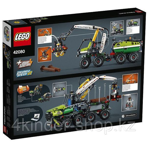 Лего Техник Конструктор Лесозаготовительная машина 42080 - фото 5