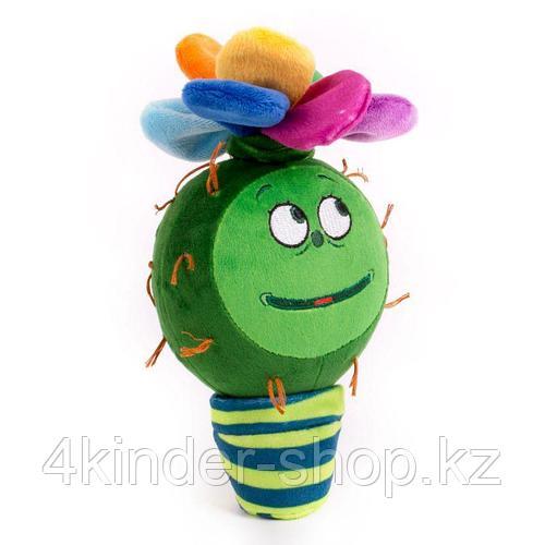 """Мягкая игрушка """"Цветик-Разноцветик 20 см со звуком"""""""