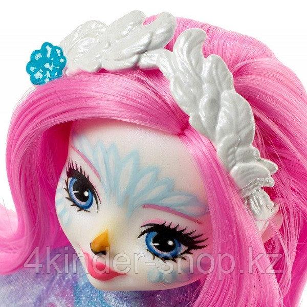 Mattel Enchantimals Кукла с питомцем - Лебедь Саффи - фото 3
