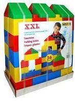 37527 Конструктор строительный Полесье XXL 36 элементов