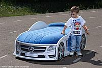 Кровать машина детская Мерседес-М UNO police