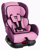 """Детское автомобильное кресло SIGER """"Наутилус"""" фиолетовый, 0-4 лет, 0-18 кг"""