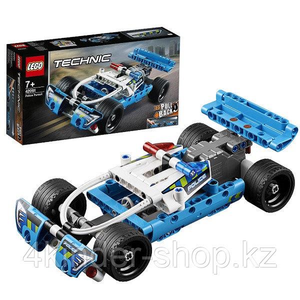 LEGO Technic 42091 Конструктор Лего Техник Полицейская погоня - фото 1