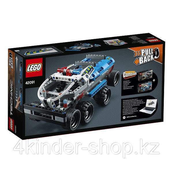 LEGO Technic 42091 Конструктор Лего Техник Полицейская погоня - фото 3