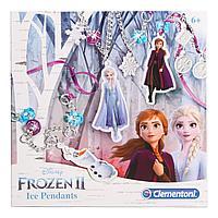 Набор Clementoni Frozen 2 Создание бижутерии из кристаллов 18511RU