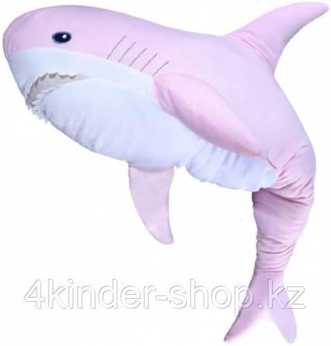 Мягкая игрушка Fancy AKL01R Акула розовая 49 см - фото 2