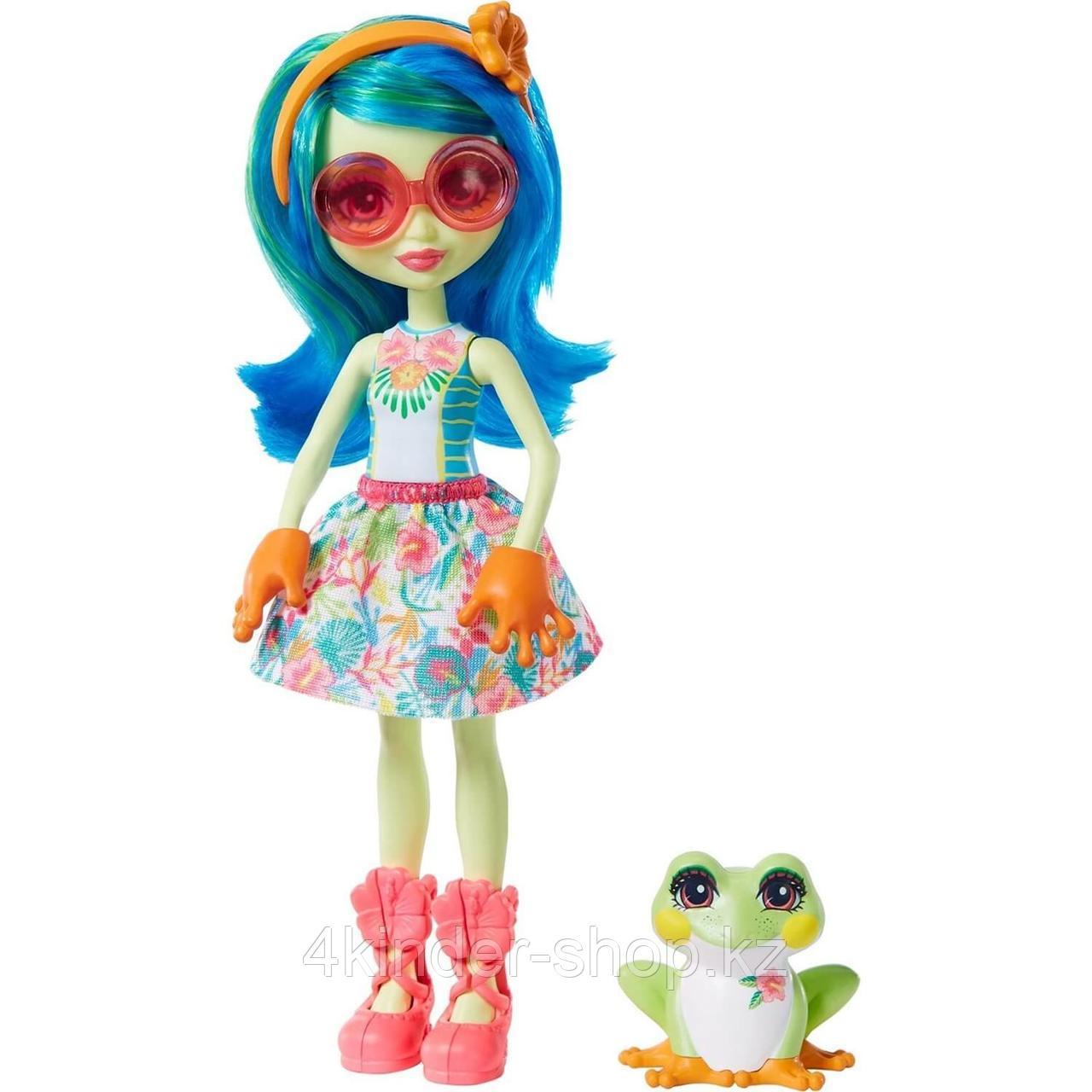 Энчантималс Enchantimals кукла с питомцем Тамика Квакша и Берст GFN43 - фото 1